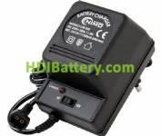 Cargador para baterías de plomo de 6V y 12V